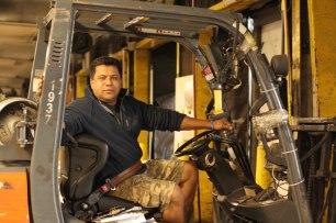 YRC Dock Worker
