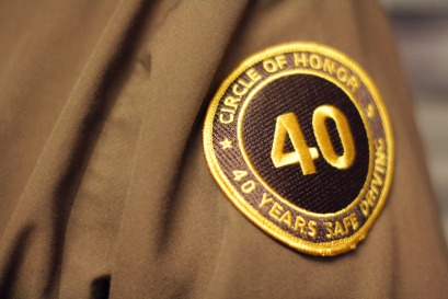 Ralph's 40 Year Safe Driving Patch
