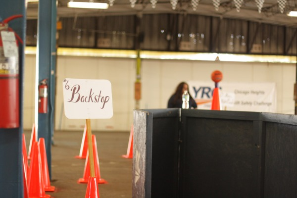 Forklift Rodeo at YRC Puts Local 710 Members to the Test