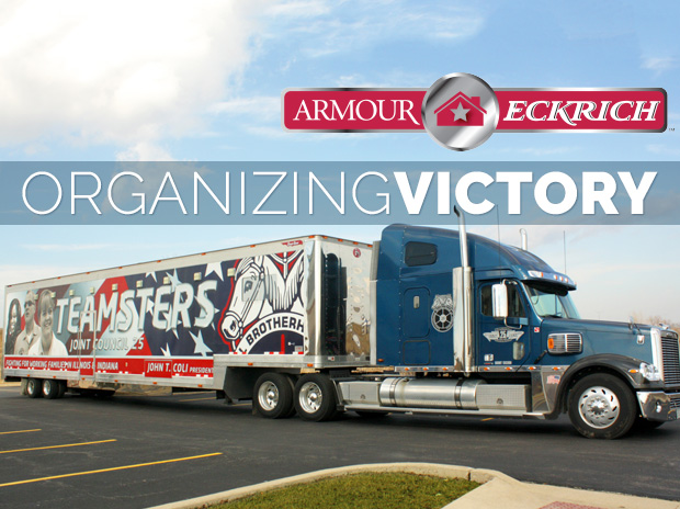 Armour-Eckrich Organizing Victory