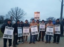 Day seven of the ULP strike at Railway Industrial Services (01.23.17)