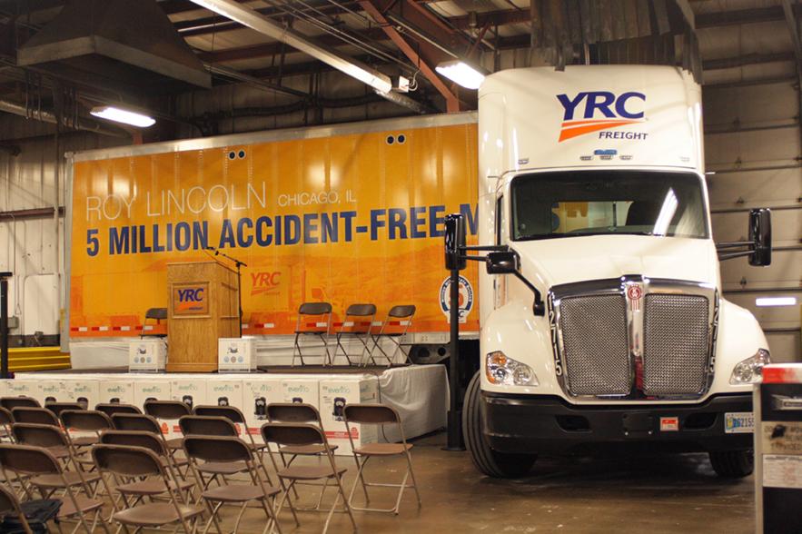 Local 710 YRC Road Driver Roy Lincoln Reaches 5-Million